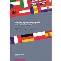 Książki prawnicze i akty prawne, Konstytucje państw nowożytnych Przegląd prawno-historyczny (opr. miękka)