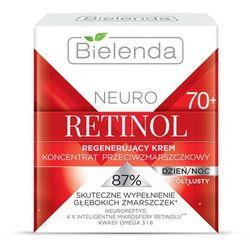 Regenerujący krem przeciwzmarszczkowy 70+ Neuro Retinol 50ml Bielenda