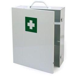 Metalowa szafka apteczka zamykana na klamry - Super Cena - Autoryzowana dystrybucja - Szybka dostawa - Porady - Wyceny - Hurt