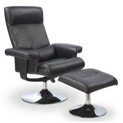 Fotel wypoczynkowy z podnóżkiem Delix