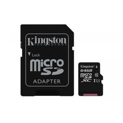 Karta pamięci Kingston microSDXC Canvas Select 64GB UHS-I Class 10 + adapter