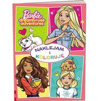 Książki dla dzieci, Barbie Naklejam i Koloruję