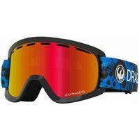 Kaski i gogle, gogle snowboardowe DRAGON - Dr Lil D Base Ion Dartblue Llredion (401) rozmiar: OS