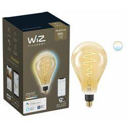 WIZ Żarówka szklana PS160 E27 Światło białe regulowane bursztynowa