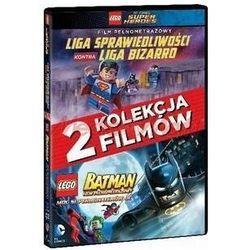 LEGO. Liga Sprawiedliwości kontra Liga Bizarro. LEGO Batman (2xDVD) - Jon Burton, Brandon Vietti DARMOWA DOSTAWA KIOSK RUCHU