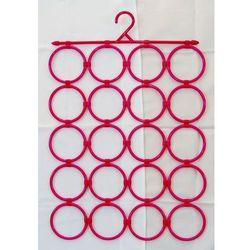 Panel (20 elementów) wieszaków do prezentacji apaszek, szalików itp. - kolor