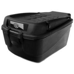 Kufer na bagażnik CARGO 15 L duży czarny - uchwyty czarne