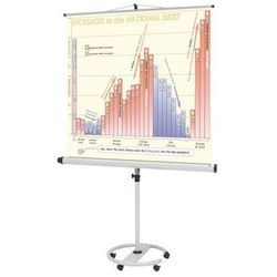 Mobilny ekran projekcyjny na statywie, 2000 x 2000 mm