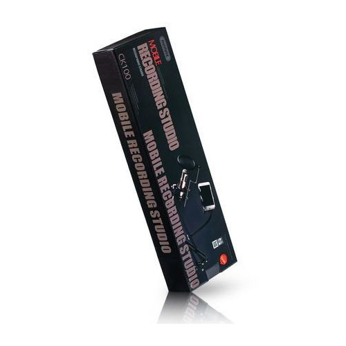 Statywy do telefonów, REMAX CK-100 stołowy uchwyt statyw mikrofonowy z filtrem POP czarny