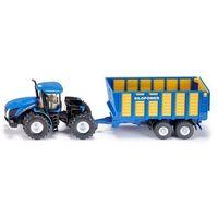 Pozostałe zabawki, Siku Farmer - New Holland T9.560 z przyczepą S1947