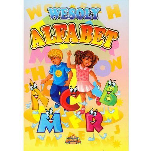 Książki dla dzieci, WESOŁY ALFABET (opr. miękka)