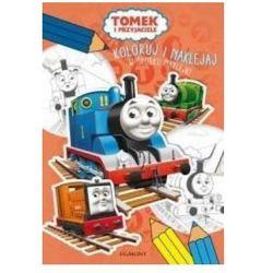 Tomek i przyjaciele. Koloruj i naklejaj + zakładka do książki GRATIS
