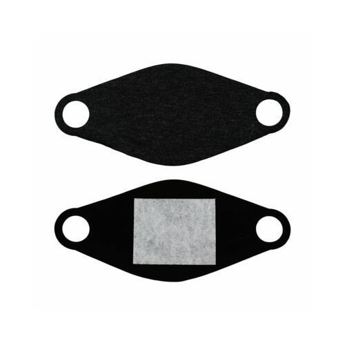 Maski antysmogowe, Maseczka ochronna ELMAK MED-M01 Czarny