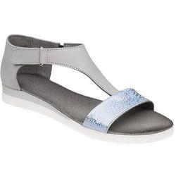 Sandały damskie VERONII 5208 Popielate - Popielaty ||Szary ||Grafitowy ||Multikolor