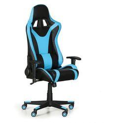Fotel dla graczy, niebieski