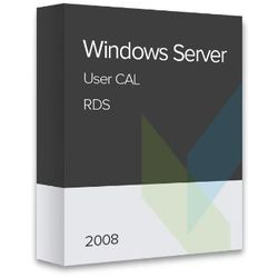 Windows Server 2008 RDS User CAL elektroniczny certyfikat