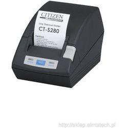 Citizen CT-S281L, USB, obcinak, czarna