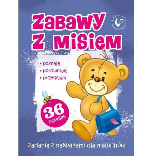 Książki dla dzieci, Zabawy z misiem (opr. broszurowa)