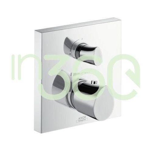 Axor Starck Organic Bateria termostatyczna podtynkowa z zaworem odcinającym chrom 12715000