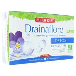 Super Diet DRAINAFLORE DETOX Suplement diety - detoksykacja (20 x 15 ml)