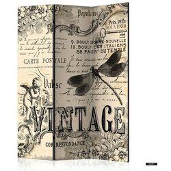 SELSEY Parawan 3-częściowy - Vintage Correspondence