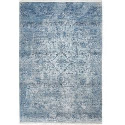 Dywan laos arabeska niebieski 80 x 150 cm