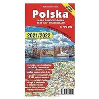 """Mapy i atlasy turystyczne, Mapa,,polska 1:700 000"""" - foliowana (wyd.2020) - praca zbiorowa (opr. miękka)"""