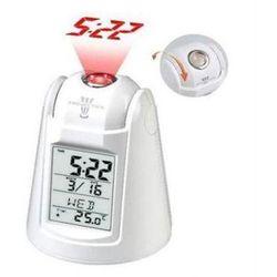 Mówiący Zegarek z Projektorem + Budzik + Termometr + Podświetlenie itd.