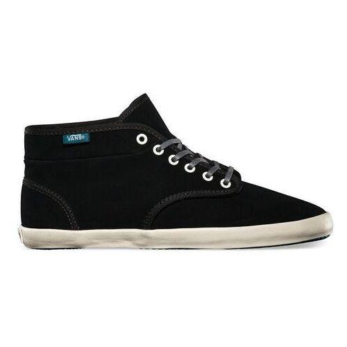 Damskie obuwie sportowe, buty VANS - Houston (Fleece) Black/Dragonfly (8L2)