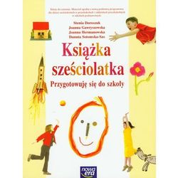 Książka sześciolatka Przygotowuję się do szkoły (opr. miękka)