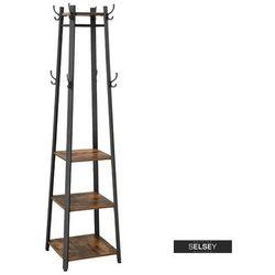 SELSEY Wieszak stojący Ramizu z półkami