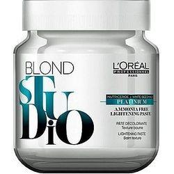 Loreal Blond Studio Platinium Pasta rozjaśniająca bez amoniaku 500g