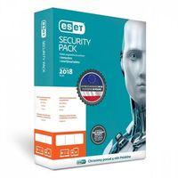 Oprogramowanie antywirusowe, Eset Security Pack 1+1 BOX 1U 36M