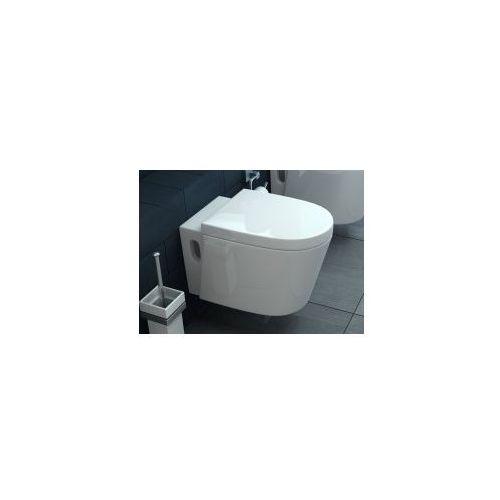 MARGO Miska WC wisząca + deska wolnoopadająca, REA-C0016