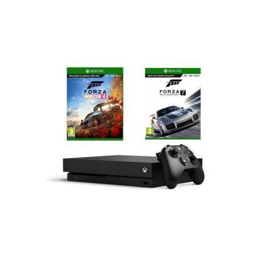 Konsole do gier, Konsola Microsoft Xbox One X 1TB