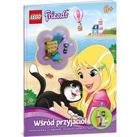 Książki dla dzieci, Lego Friends. Wśród przyjaciół + klocki (opr. broszurowa)
