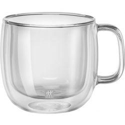 Zwilling - Sorrento Plus - 2 szklanki do cappuccino o podwójnych ściankach (pojemność: 0,45 l)