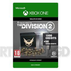 Tom Clancy's The Division 2 - Pakiet 1050 Kredytów [kod aktywacyjny] Xbox One