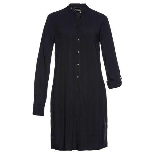 Bluzki, Długa bluzka bonprix czarny