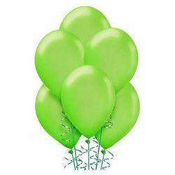 Balony lateksowe średnie - 10 cali - jasnozielone - 25 szt.