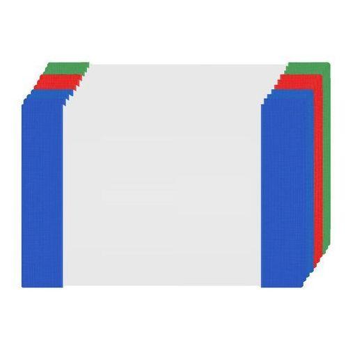 Pozostałe artykuły papiernicze, Okładka A5 na zeszyt przezroczysta zestaw 10szt - 10szt