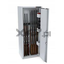 Szafa na broń długą MLB 125/4+4 EL S1 Konsmetal - zamek elektroniczny