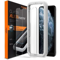 Szkło Hartowane Spigen Alm Glas.Tr Slim 2-Pack Iphone 11