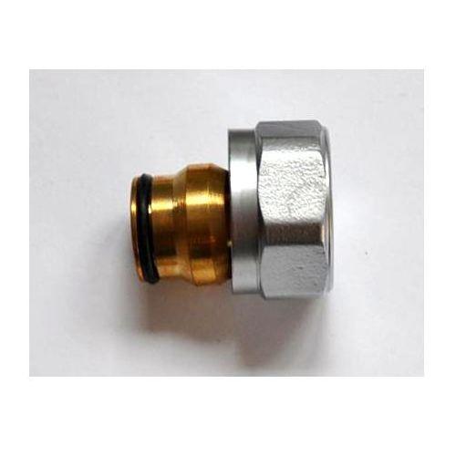Złączka zaciskowa do rury z miedzi cu gw m22x1,5 x 15mm 6025 00002.02 satyna marki Schlosser