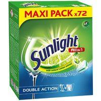 Kostki do zmywarek, Unilever SUNLIGHT Tabletki do zmywarki (660886) Darmowy odbiór w 20 miastach!