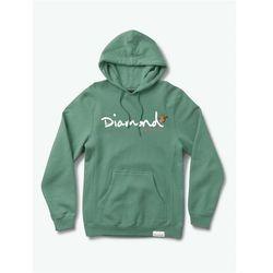 bluza DIAMOND - Paradise Og Script Hoodie Alpine Green (AGN) rozmiar: M