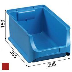 Warsztatowe pojemniki z tworzywa sztucznego - 205 x 355 x 150 mm
