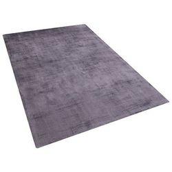 Dywan szary 140x200 cm krótkowłosy - chodnik - wiskoza - GESI
