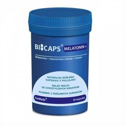 Bicaps Melatonina Melatonin + 3 mg 60 porcji 60 kapsułek ForMeds