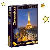 Puzzle, Puzzle CLEMENTONI Fluo Paris (1000 elementów)